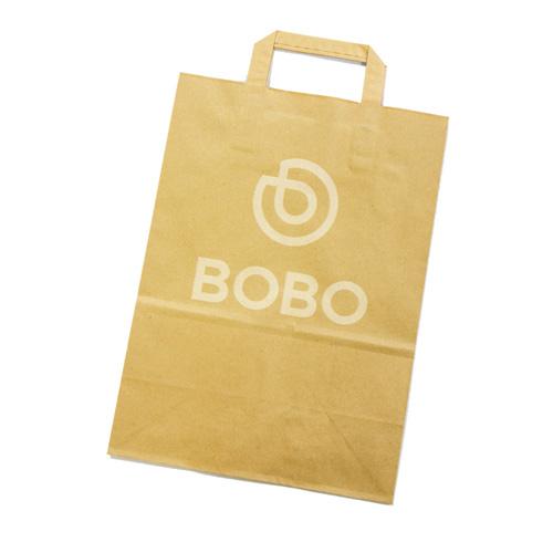 Papírová taška s logem